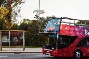 Bus touristique Barcelone Anneau Olympique