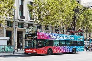 Bus touristique Barcelone Arrêt Battlo