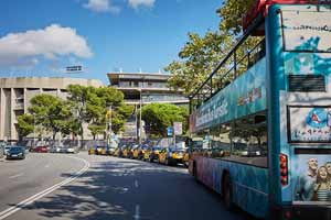Bus touristique Barcelone Camp Nou