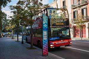 Bus touristique Barcelone Eixample