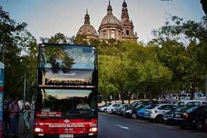 Bus touristique Barcelone MNAC