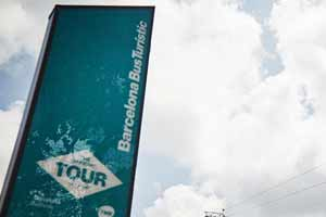 Bus touristique Barcelone téléphérique de Monjuic
