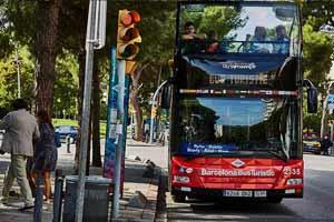Bus touristique Barcelone Palau Real