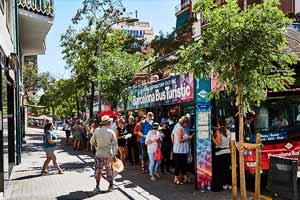 Bus touristique Barcelone Parc Guell