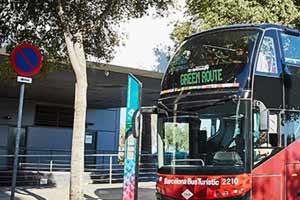 Bus touristique Barcelone Poblenou Centre