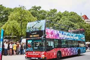 Bus touristique Barcelone Arrêt Sagrada Familia
