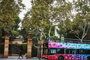 Bus touristique Barcelone Tramvia Blu