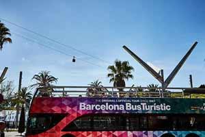 Bus touristique Barcelone World Trade Center