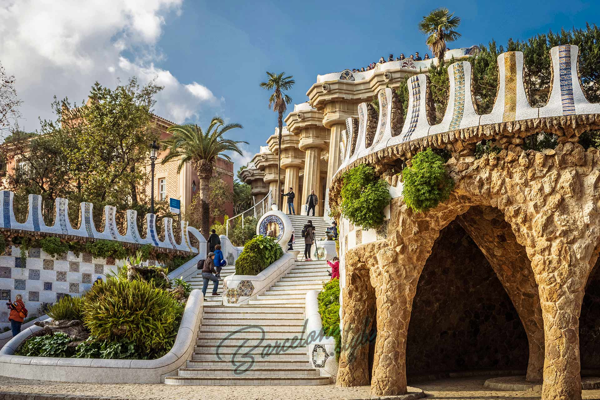 Parc Guell Guide Complet Pour Le Visiter Oriane Angel